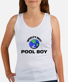 World's Best Pool Boy Tank Top