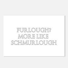Furlough? More Like Schmurlough Postcards (Package