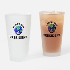 World's Best President Drinking Glass