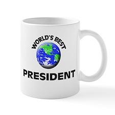 World's Best President Small Mug