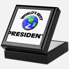 World's Best President Keepsake Box