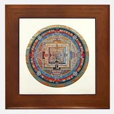 Mandala one Framed Tile