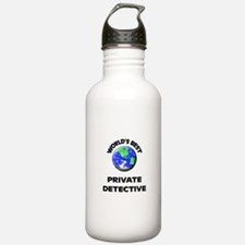 World's Best Private Detective Water Bottle