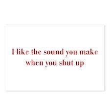 I-like-sound-you-make-bod-burg Postcards (Package