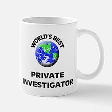 World's Best Private Investigator Mug