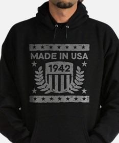 Made In USA 1942 Hoodie (dark)