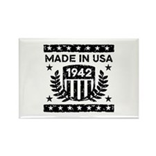 Made In USA 1942 Rectangle Magnet
