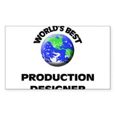 World's Best Production Designer Decal