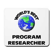 World's Best Program Researcher Mousepad