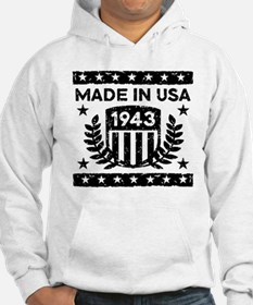 Made In USA 1943 Hoodie