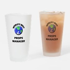 World's Best Props Manager Drinking Glass