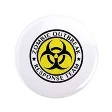 "Zombie Outbreak Response Team 3.5"" Button (100 pac"