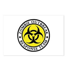 Zombie Outbreak Response Team Postcards (Package o