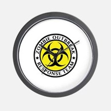 Zombie Outbreak Response Team Wall Clock