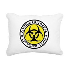 Zombie Outbreak Response Team Rectangular Canvas P