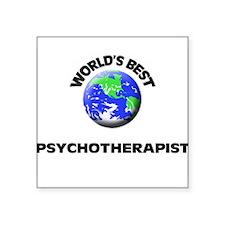 World's Best Psychotherapist Sticker