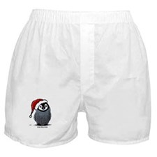 Christmas Penguin Boxer Shorts