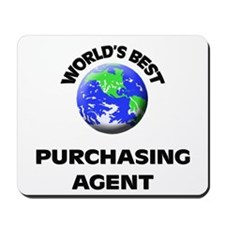 World's Best Purchasing Agent Mousepad