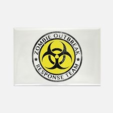 Zombie Outbreak Response Team Rectangle Magnet (10