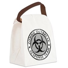 Zombie Outbreak Response Team Canvas Lunch Bag