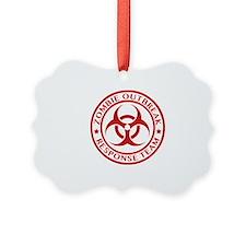 Zombie Outbreak Response Team Ornament