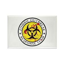 Zombie Outbreak Response Team Rectangle Magnet (10