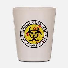 Zombie Outbreak Response Team Shot Glass