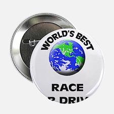 """World's Best Race Car Driver 2.25"""" Button"""