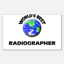 World's Best Radiographer Decal
