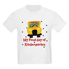 My First Day of Kindergarten T-Shirt