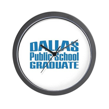 Dallas Public School Graduate Wall Clock