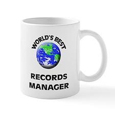 World's Best Records Manager Mug