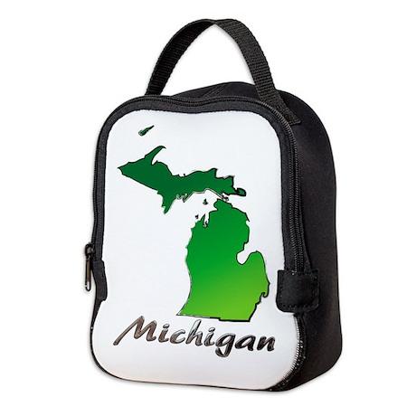 Michigan Neoprene Lunch Bag