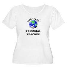World's Best Remedial Teacher Plus Size T-Shirt
