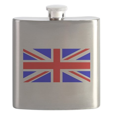 Union Flag of the United Kingdom Flask