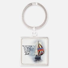 You Cant Change the Wind.png Keychains