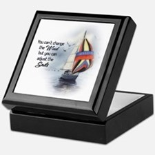 You Cant Change the Wind.png Keepsake Box
