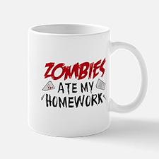 Zombie Ate My Homework Mug