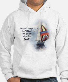You Cant Change the Wind.png Hoodie