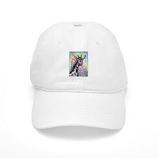 Giraffe, wildlife art! Baseball Baseball Cap