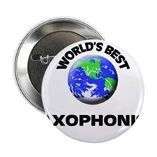 """World's Best Saxophonist 2.25"""" Button"""