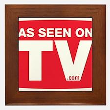 As Seen On TV Framed Tile