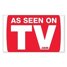 As Seen On TV Decal