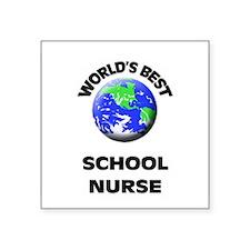 World's Best School Nurse Sticker