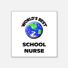 World's Best School Nurse Sticker