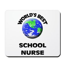 World's Best School Nurse Mousepad