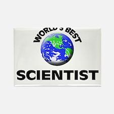 World's Best Scientist Rectangle Magnet