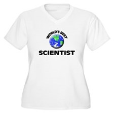 World's Best Scientist Plus Size T-Shirt