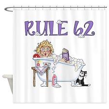RULE 62 Shower Curtain