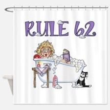 RULE 62 Shower Curtain